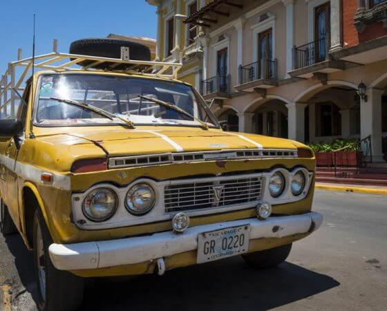 Granada, Nicaragua City Street