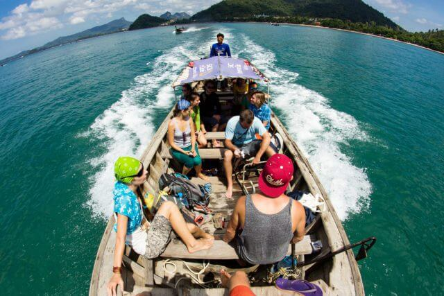 Massage School Abroad - Yelapa, Mexico - Water Taxi