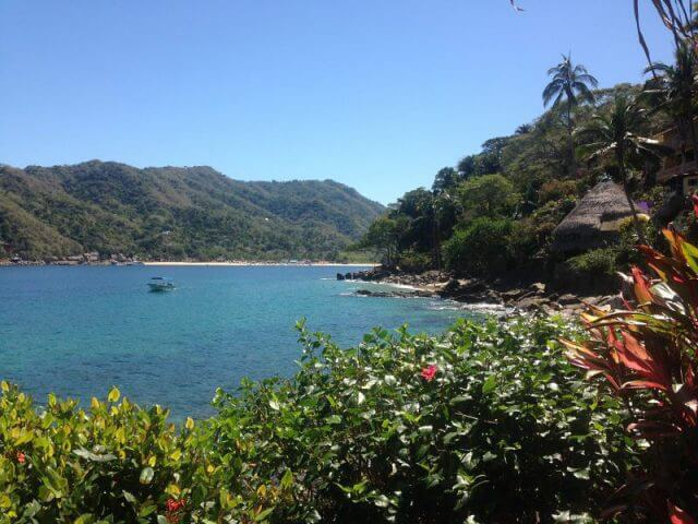 Yelapa, Mexico – View of Bay and Beach
