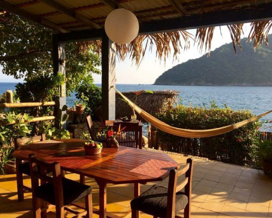 Yelapa, Mexico – Lower Patio