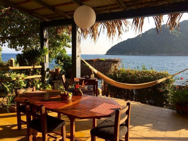 Yelapa, Mexico – Front Patio Area