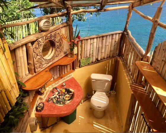 Yelapa, Mexico – Bathroom Near Bay