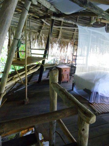 Yelapa, Mexico – Hanging Bed & Lower Floor