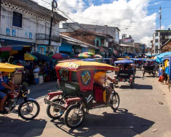 Los Organos, Peru – Rickshaws in Peru