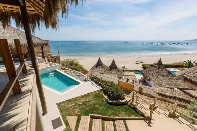 Massage School Abroad - Los Organos, Peru Steps to Beach